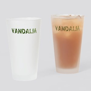 Vandalia, Vintage Camo, Drinking Glass
