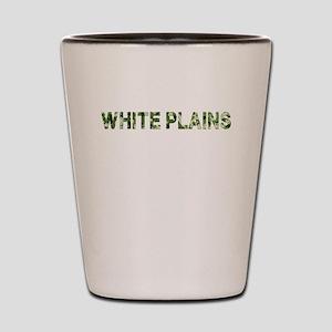 White Plains, Vintage Camo, Shot Glass