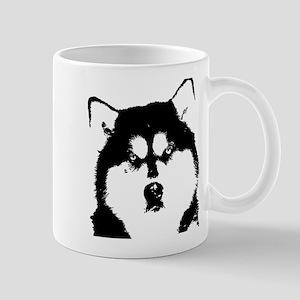 Dignified Alaskan malamute Mug