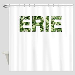 Erie, Vintage Camo, Shower Curtain