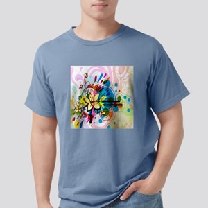 Flower Abstract Mens Comfort Colors Shirt