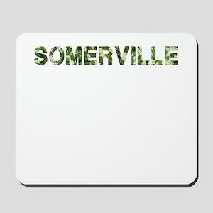 Somerville, Vintage Camo, Mousepad