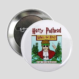 Harry Pothead Button
