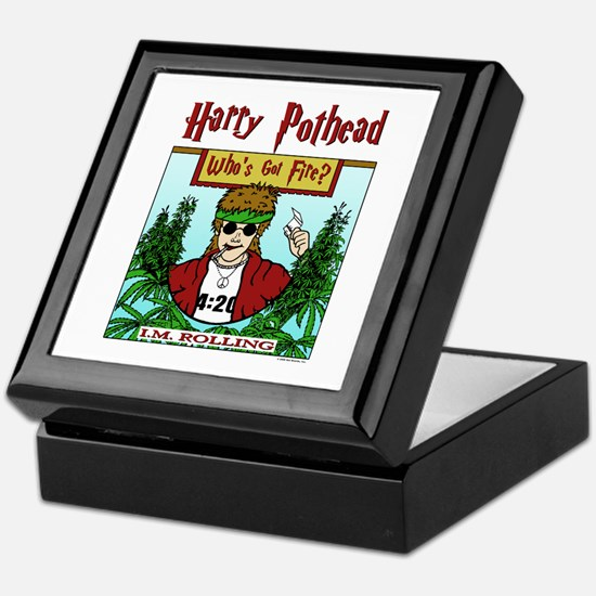 Harry Pothead Keepsake Box