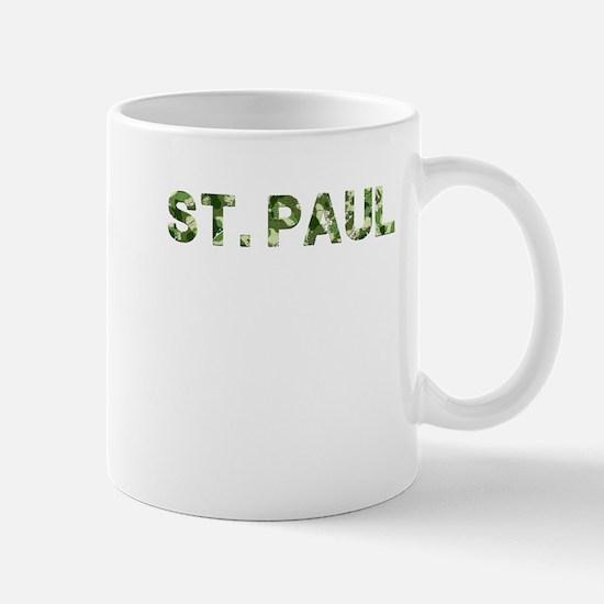 St. Paul, Vintage Camo, Mug