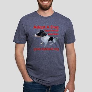 adoptadog_transparent Mens Tri-blend T-Shirt