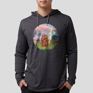 R-CloudAngel-RubyCavalier Mens Hooded Shirt