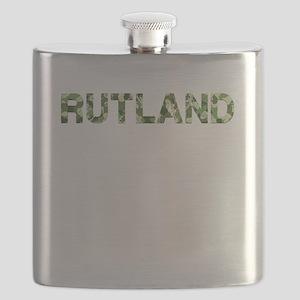 Rutland, Vintage Camo, Flask