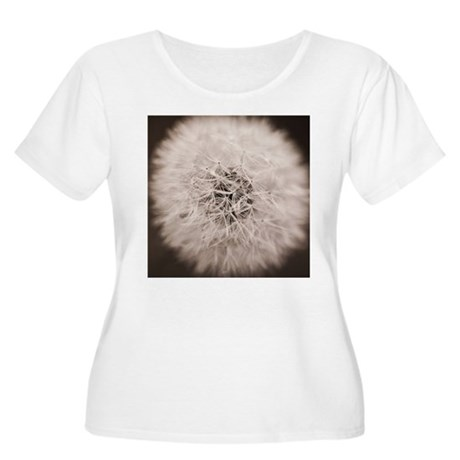 Make a wish. Women's Plus Size Scoop Neck T-Shirt
