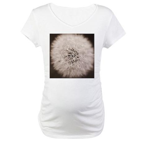 Make a wish. Maternity T-Shirt