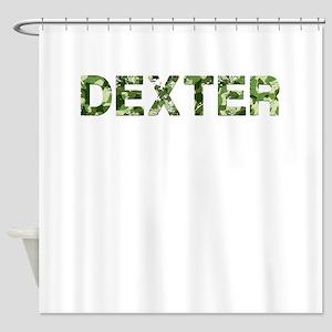 Dexter Vintage Camo Shower Curtain