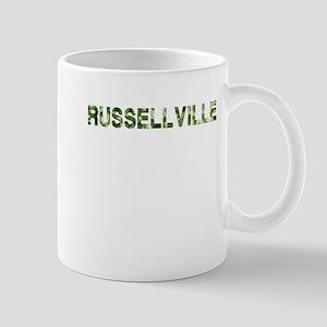 Russellville, Vintage Camo, Mug