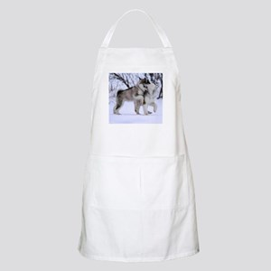 Wolves Playing Apron