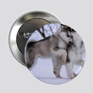 """Wolves Playing 2.25"""" Button"""
