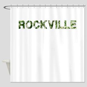 Rockville, Vintage Camo, Shower Curtain