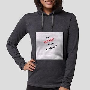 bernesemtn Womens Hooded Shirt