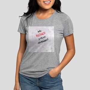 bernesemtn Womens Tri-blend T-Shirt