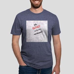 bernesemtn Mens Tri-blend T-Shirt