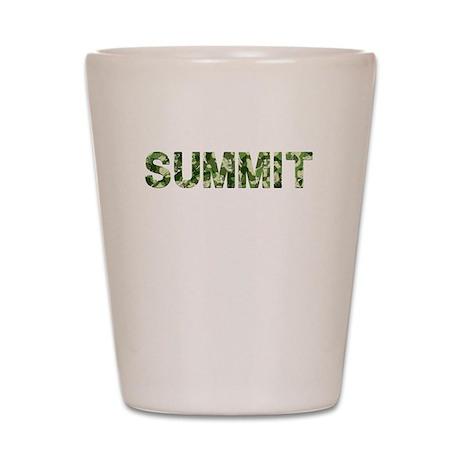 Summit, Vintage Camo, Shot Glass