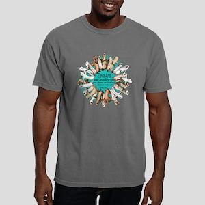 Deva-Arts logo Mens Comfort Colors Shirt