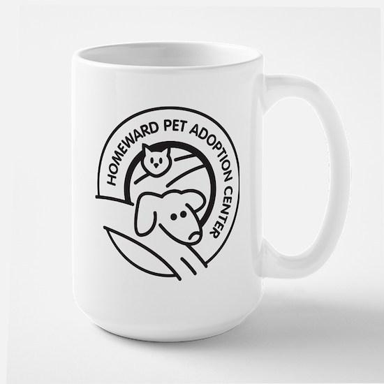 B&W HPAC Logo Large Mug