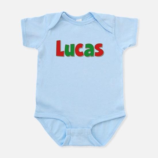 Lucas Christmas Infant Bodysuit