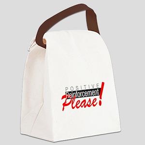 Positive reinforcement Canvas Lunch Bag