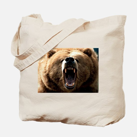 Grizzzly Tote Bag