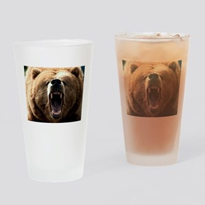 Grizzzly Drinking Glass