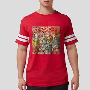 Vintage Hawaii Travel Colorful Mens Football Shirt