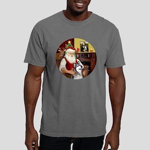 Santa (R) - Alaskan Mala Mens Comfort Colors Shirt