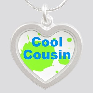 Cool Cousin Silver Heart Necklace