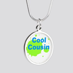 Cool Cousin Silver Round Necklace