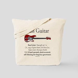 Bass Guitar LFG Tote Bag