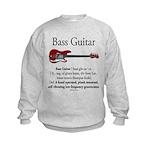 Bass Guitar LFG Kids Sweatshirt