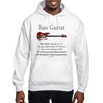 Bass Guitar LFG Hooded Sweatshirt