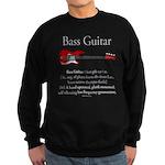Bass Guitar LFG Sweatshirt (dark)