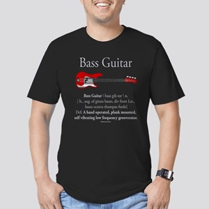 Bass Guitar LFG Men's Fitted T-Shirt (dark)