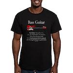Bass Guitar LFG Men's Fitted T-Shirt (dark)