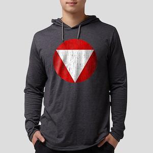 Austria Roundel Aged Mens Hooded Shirt