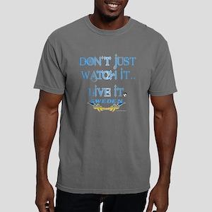 Sweden Lives Soccer Mens Comfort Colors Shirt