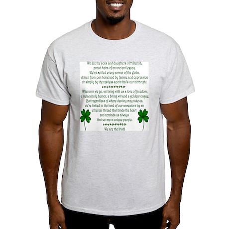 We Are the Irish Light T-Shirt