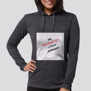bullmastiffhome Womens Hooded Shirt