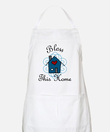 Bless This Home Apron