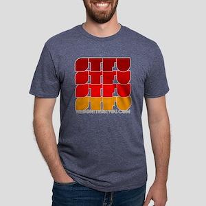 STFU teeshirts Mens Tri-blend T-Shirt
