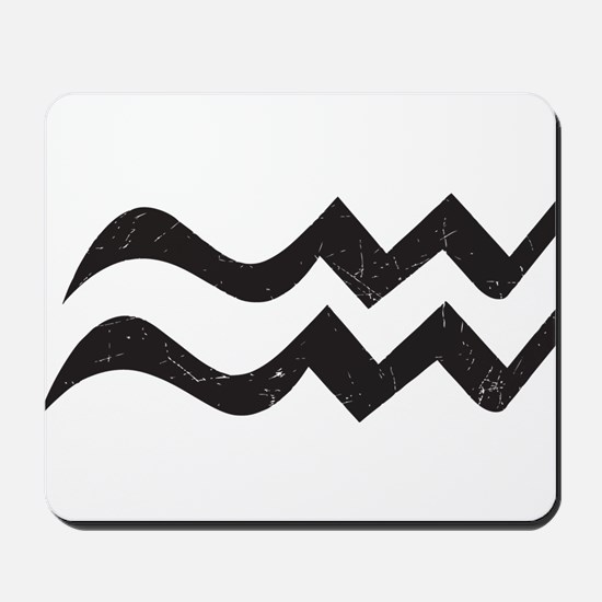 Aquarius Symbol Mousepad