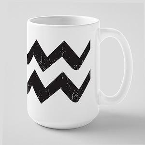 Aquarius Symbol Large Mug