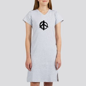 Peace Sign Women's Nightshirt