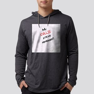 colliehome Mens Hooded Shirt