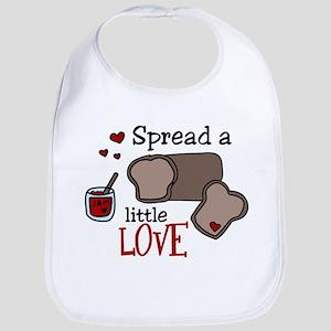 Spread Love Bib